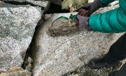 Il ghiacciaio restituisce i cadaveri dei soldati