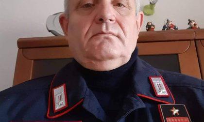 Brunello Bacco, carabiniere da 43 anni, diventa Luogotenente