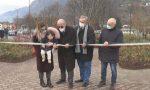 Il giardino dedicato a Sandro Farisoglio, la scultura e il premio voluto dalla Comunità Montana