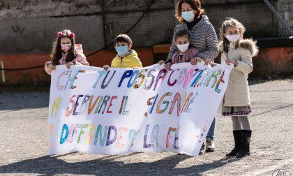 Il saluto a don Ennio Galelli