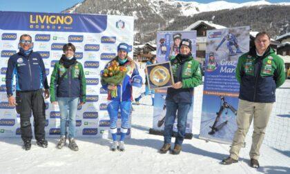 Cancro Primo Aiuto premia la campionessa di sci Marta Bassino