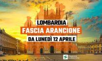 Dal 12 aprile la Lombardia sarà arancione