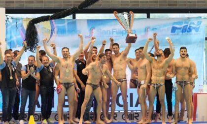 An Brescia batte Pro Recco e si laurea campione d'Italia