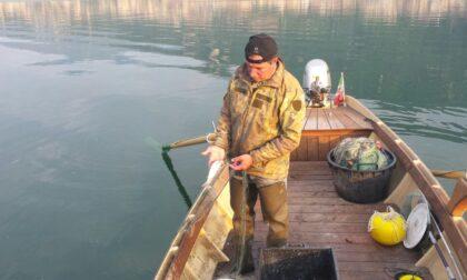Danilo, l'ultimo pescatore professionista del lago