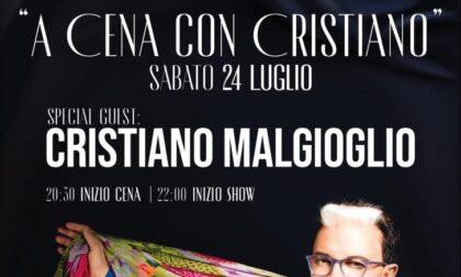 Una serata con Cristiano Malgioglio
